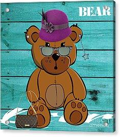 Baby Bear Collection Acrylic Print