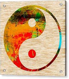 Balance Acrylic Print by Marvin Blaine