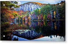 Bald Rock Mountain Nc Acrylic Print