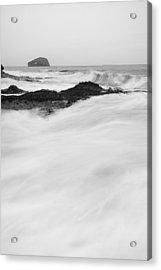 Bass Rock Acrylic Print by Keith Thorburn LRPS