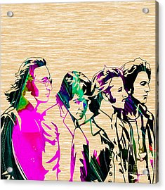 Beatles Collection Acrylic Print by Marvin Blaine