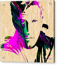 Ben Affleck Collection Acrylic Print