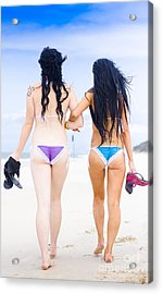 Best Friends Acrylic Print by Jorgo Photography - Wall Art Gallery