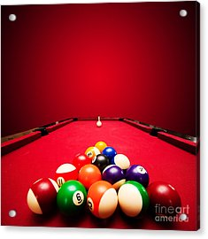 Billards Pool Game Acrylic Print