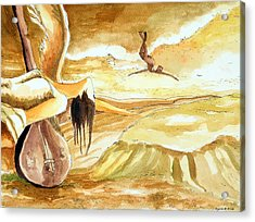 Birth Of A Song Acrylic Print by Ayan  Ghoshal