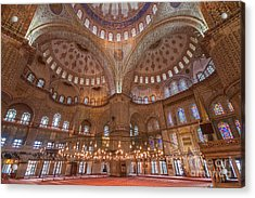 Blue Mosque Istanbul Acrylic Print