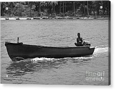 Boat  Acrylic Print by Bobby Mandal
