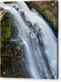 Brandywine Falls Acrylic Print by Frozen in Time Fine Art Photography