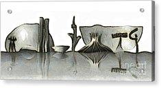 Brasilia Skyline Acrylic Print