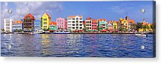 Buildings At The Waterfront Acrylic Print