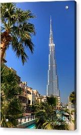 Burj Khalifa Dubai Acrylic Print by Fototrav Print