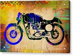 Cafe Racer Acrylic Print by Marvin Blaine