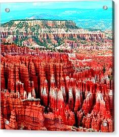 Canyon Acrylic Print by Ernesto Cinquepalmi