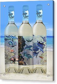 Carey Chen Fine Art Wines Acrylic Print by Carey Chen