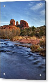Cathedral Rocks In Sedona Acrylic Print