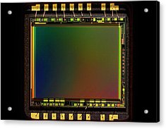 Ccd Camera Sensor Acrylic Print