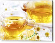 Chamomile Tea Acrylic Print by Elena Elisseeva