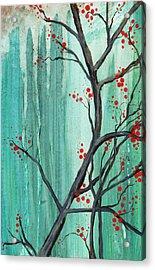 Cherry Tree  Acrylic Print by Carrie Jackson