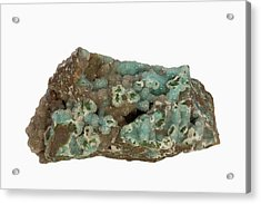 Chrysocolla Acrylic Print by Science Stock Photography/science Photo Library