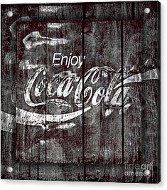 Coca Cola Sign Acrylic Print by John Stephens