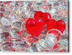 Crystal Heart Acrylic Print
