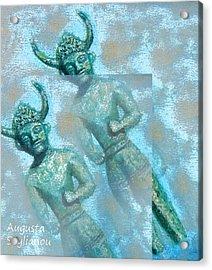 Cyprus Gods Of Trade. Acrylic Print by Augusta Stylianou