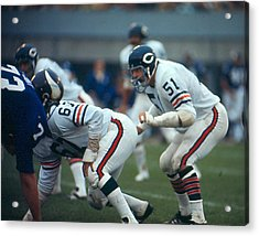 Dick Butkus Acrylic Print by Retro Images Archive