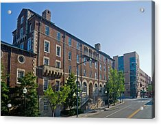 Downtown Knoxville Acrylic Print by Melinda Fawver