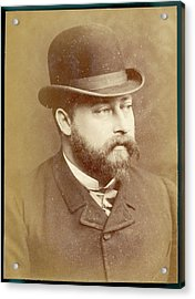 Edward Vii, British Royalty As Prince Acrylic Print by Mary Evans Picture Library