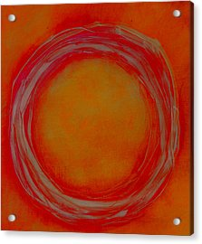 Acrylic Print featuring the painting Enso by Katie Black