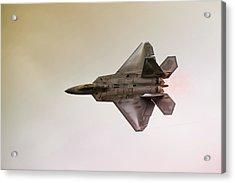 F-22 Raptor Acrylic Print