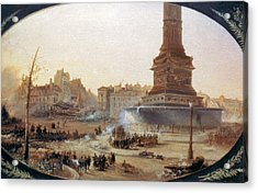 France Revolution, 1848 Acrylic Print by Granger