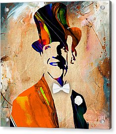 Fred Astaire Collection Acrylic Print by Marvin Blaine