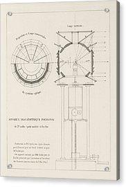 Fresnel On Lighthouse Lenses Acrylic Print