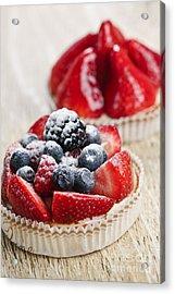 Fruit Tarts Acrylic Print