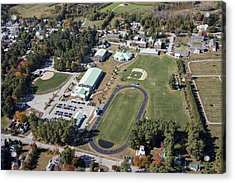 Fryeburg Academy, Maine Me Acrylic Print by Dave Cleaveland