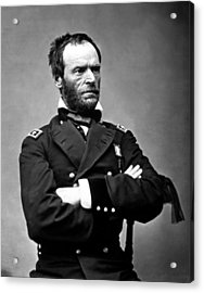 General William Tecumseh Sherman Acrylic Print