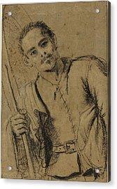 Giovanni Francesco Barbieri, Called Guercino Italian Acrylic Print by Quint Lox