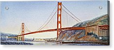 Golden Gate Bridge San Francisco Acrylic Print