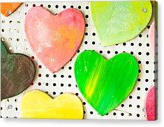 Heart Shape Acrylic Print