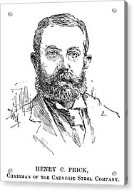 Henry Clay Frick (1849-1919) Acrylic Print by Granger