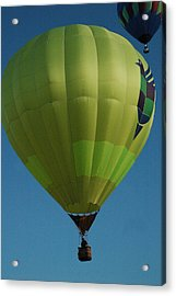 Hot Air Balloons Acrylic Print by Gary Marx