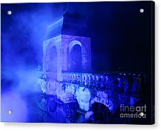 Illumina Light Show At Schloss Dyck Germany Acrylic Print by David Davies