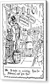 Immigrants Irish, C1885 Acrylic Print by Granger