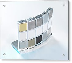 Instrumentation Measurement Standard Acrylic Print by Andrew Brookes, National Physical Laboratory