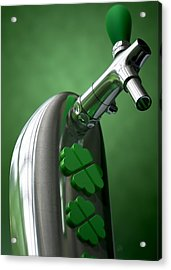 Irish Beer Tap Acrylic Print