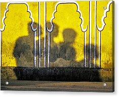 4 Is Company Acrylic Print
