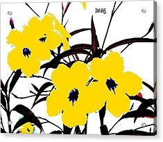 4 Jacks W Logo Acrylic Print
