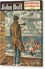 John Bull 1950s Uk Holidays Seasons Acrylic Print by The Advertising Archives