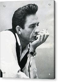 Johnny Cash Acrylic Print